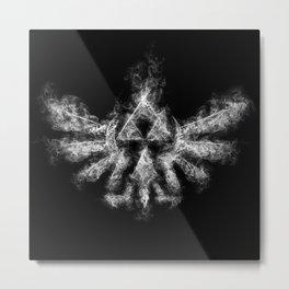 Triforce Smoke Metal Print