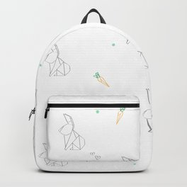 origami bunnies Backpack