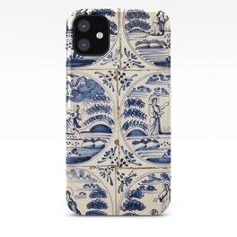 Dutch Delft Blue Tiles iPhone Case