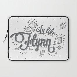 In Like Flynn Laptop Sleeve