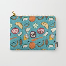 Pop Fruit Blue Carry-All Pouch