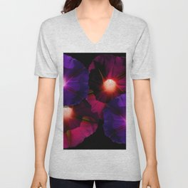 Morning Glory I Unisex V-Neck