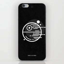 Deathstar - Thats No Moon iPhone Skin
