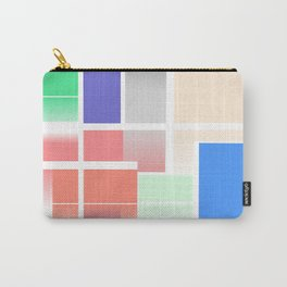 Minimalist Abstract Colour Art Carry-All Pouch