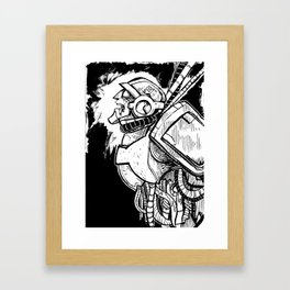 B&W FULCRUM Framed Art Print
