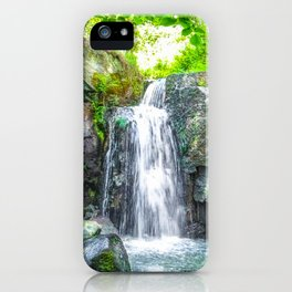 Lumsdale Falls. iPhone Case