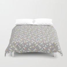 loves me loves me not pattern - pastel Duvet Cover