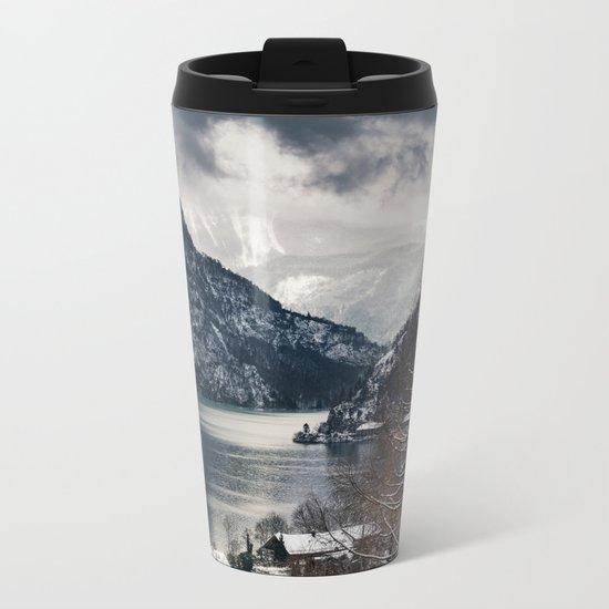 Winter Landscape #photography #sky Metal Travel Mug