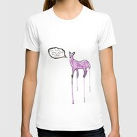 writing T-shirts featuring Essay Writing Deer by Mary HB Nguyen