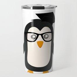 Penguin nerd Travel Mug