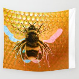 3-Bees Wall Tapestry