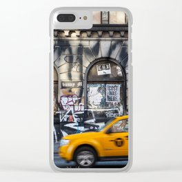NYC 01 Clear iPhone Case