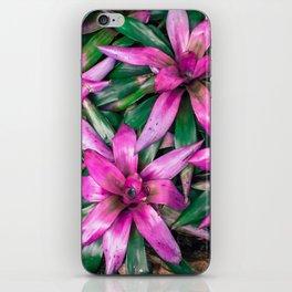 Pink Flowers Blooming iPhone Skin