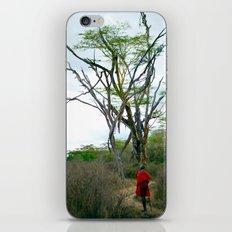 Masai Warrior iPhone Skin