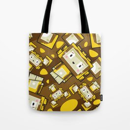 Cute Cartoon Blockimals Lion Pattern Tote Bag
