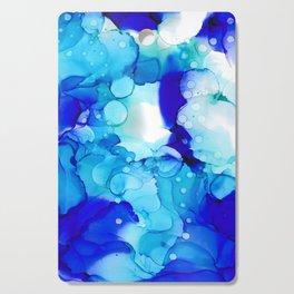 Blue Aqua Cutting Board