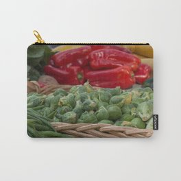 Brussel Sprouts and other Fresh Veggies Carry-All Pouch