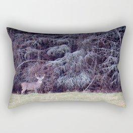 9 Point Buck Rectangular Pillow