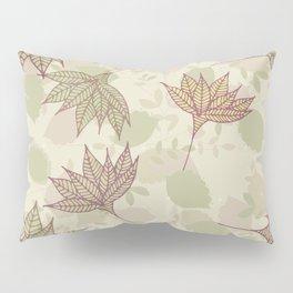 Autumn Leaves Print Pillow Sham