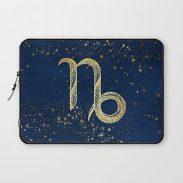 Capricorn Zodiac Sign Laptop Sleeve