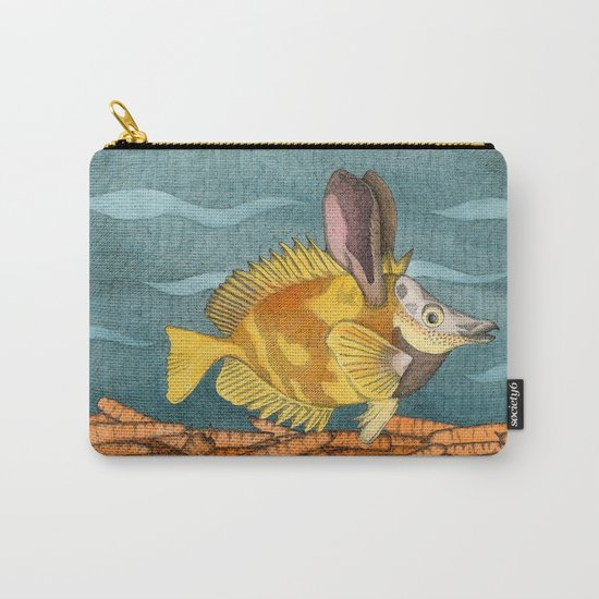 Foxface rabbit fish Carry-All Pouch