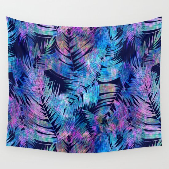 Waikiki Tropic {Blue} Wall Tapestry