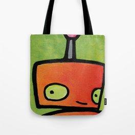 Robot - Sweet Shy Glances Tote Bag