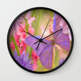 Once upon a time there was...  #society6 #buyart Wall Clock