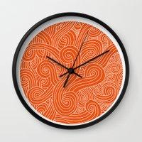 random Wall Clocks featuring random by muffa