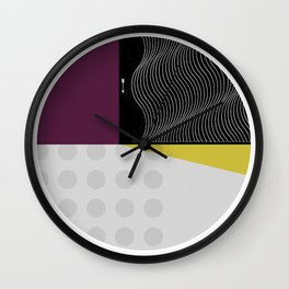 Segments #6 Wall Clock