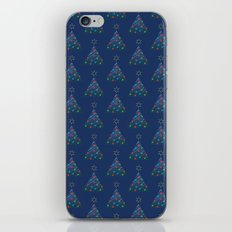 Christmas Trees Pattern iPhone & iPod Skin