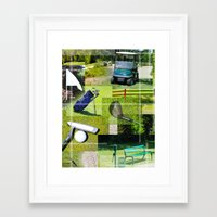 golf Framed Art Prints featuring Golf by Andrew Sliwinski