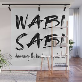 Wabi Sabi Wall Mural