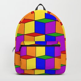 gay cubed Backpack