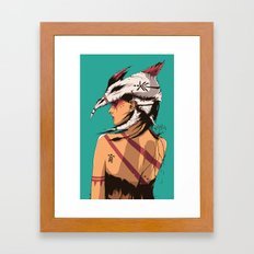 Bone Collector Framed Art Print