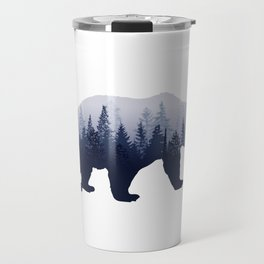 Bear in the Woods Travel Mug