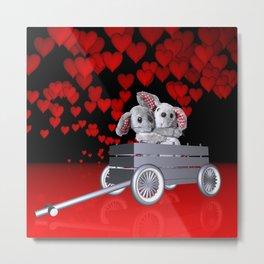 Love is in the air -1- Metal Print