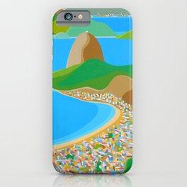 SUGAR LOAF IN RIO DE JANEIRO iPhone Case