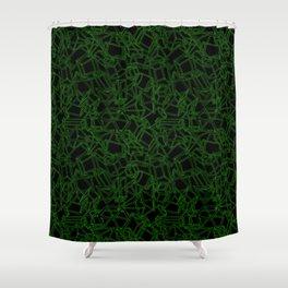 Geojumble Two Shower Curtain