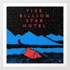 Star Hotel Art Print