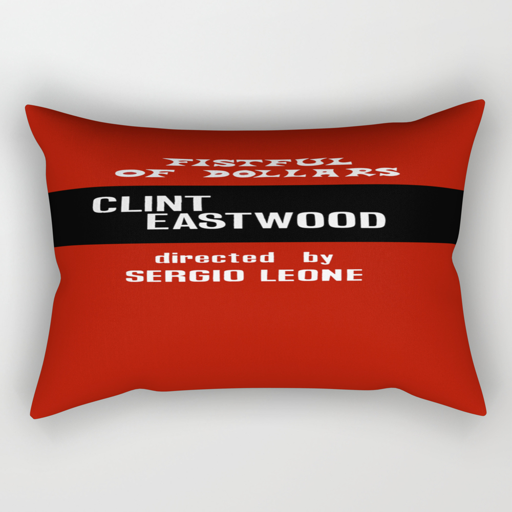 A Fistful Of Dollar Rectangular Pillow RPW8738278