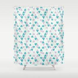 Geometrica poppy Shower Curtain