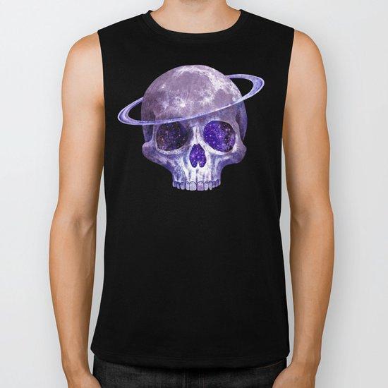Cosmic Skull Biker Tank