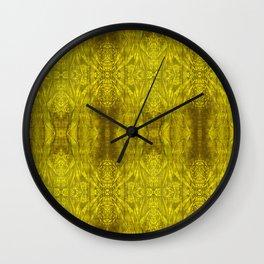 Triangular Tree Wall Clock
