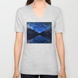 Moonlit Awakening Unisex V-Neck