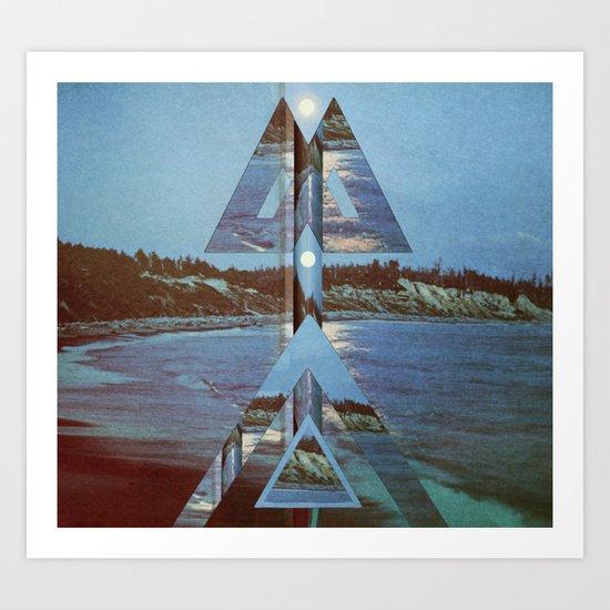 ⟁ ⟁  Art Print