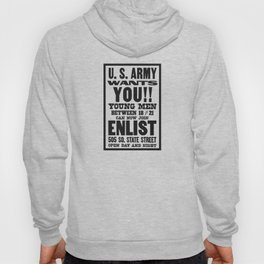 US Army Wants You -- WWI Hoody