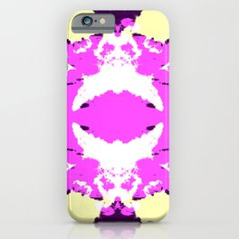 Ichitomi - Abstract Colorful Batik Camouflage Tie-Dye Style Pattern iPhone Case