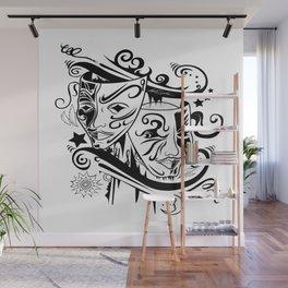 Zodiac - Gemini Wall Mural