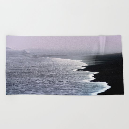 Dusk Coast Beach Towel